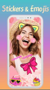 Cat Face - Sticker photo editor & Selfie stickers APK screenshot 1