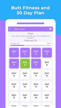 Daily Butt Workout - Leg Workout for women APK screenshot 1