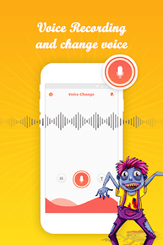 Voice editor - voice recorder & sound effects. APK screenshot 1