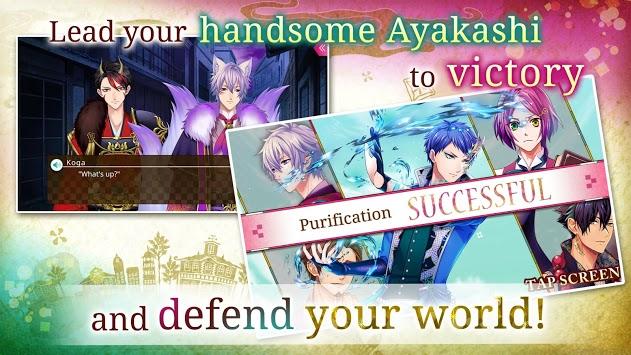Ayakashi: Romance Reborn - Supernatural Otome Game APK screenshot 1
