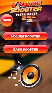 Volume Booster & Equalizer APK screenshot 1