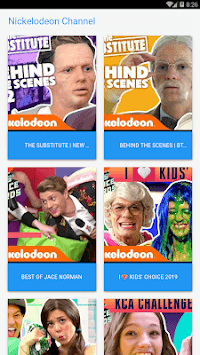Nickelodeon Channel APK screenshot 1