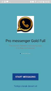 Pro Messenger Gold Full APK screenshot 1