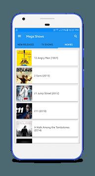 Mega Shows APK screenshot 1