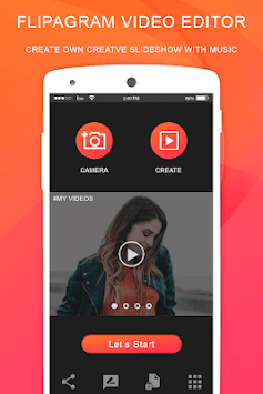 Flipagram Video Maker - Music Slideshow Maker APK screenshot 1