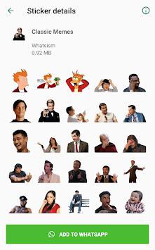 Memes - Sticker Pack For Whatsapp APK screenshot 1
