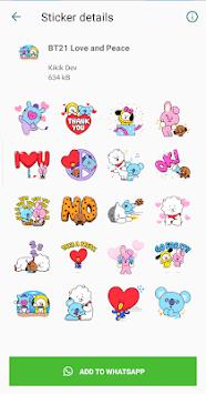 WAStickerApps - Cute Stickers Pack APK screenshot 1