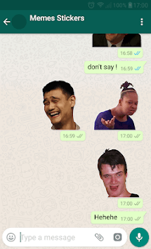 😂Meme Stickers for WAStickerApps APK screenshot 1