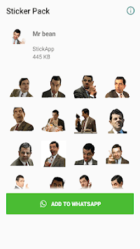 WAStickerapps Mr bean APK screenshot 1