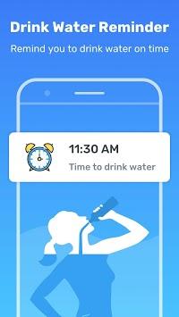 Daily Drink Water Reminder : Water Tracker & Alarm APK screenshot 1