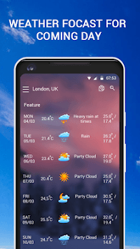 Weather Forecast- Local Weather Live APK screenshot 1