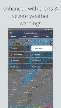 Weather Radar — Live Maps & Alerts APK screenshot 1