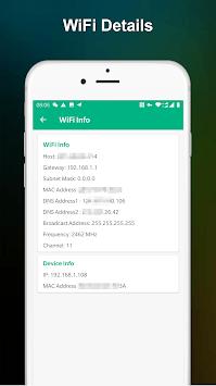 WiFi Signal Strength Meter - Network Monitor APK screenshot 1