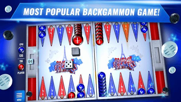 Ultimate Backgammon: Classic Dice & Board Game APK screenshot 1