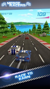 Merge Racers APK screenshot 1