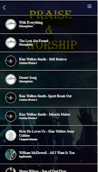 Praise and Worship Songs & Radio APK screenshot 1