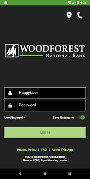 Woodforest Mobile Banking APK screenshot 1