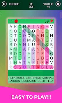 Word Finder Puzzle - Smart Link Word APK screenshot 1