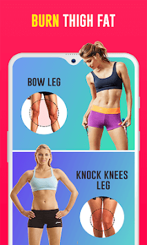 Skinny leg workouts for women: Burn Thigh fat, gap APK screenshot 1
