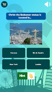 Where In The World? - Geography Quiz Game APK screenshot 1