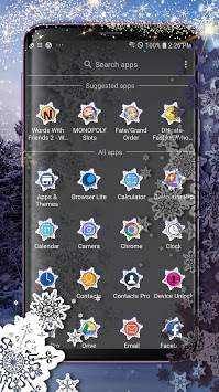 Winter Themed Launcher - Wallpapers and Icons APK screenshot 1
