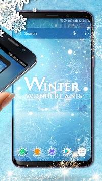 Winter Wonderland Theme - Icons and Wallpapers APK screenshot 1
