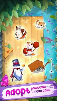Meowaii: Merge cute cats APK screenshot 1