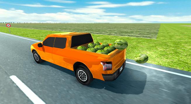 Pickup Truck Simulator Watermelon (Truck Driver) APK screenshot 1