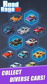 Road Rage 3D : Fastlane Game APK screenshot 1