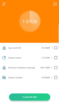 Junk file cleaning APK screenshot 1