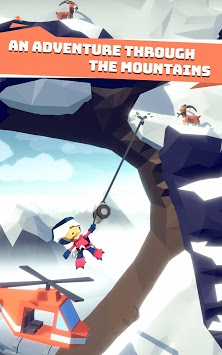 Hang Line: Mountain Climber APK screenshot 1