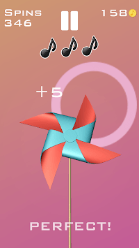 Rhythm Pinwheel APK screenshot 1