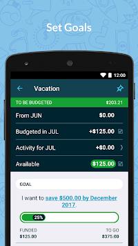 YNAB — Budget, Personal Finance APK screenshot 1