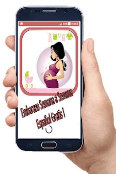 Pregnancy Week to Week Spanish Free APK screenshot 1