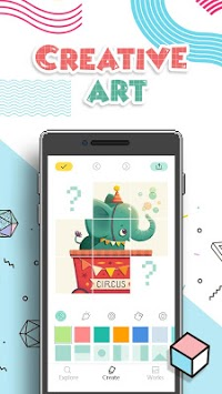 Creative Art - Pixel Image Editor APK screenshot 1