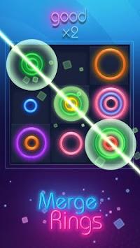 Merge Rings Neon APK screenshot 1