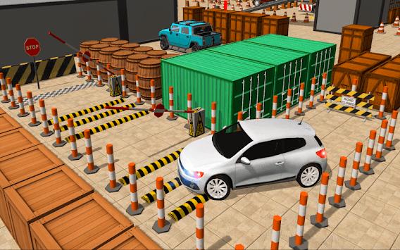 In Car Parking Games – Prado New Driving Game APK screenshot 1