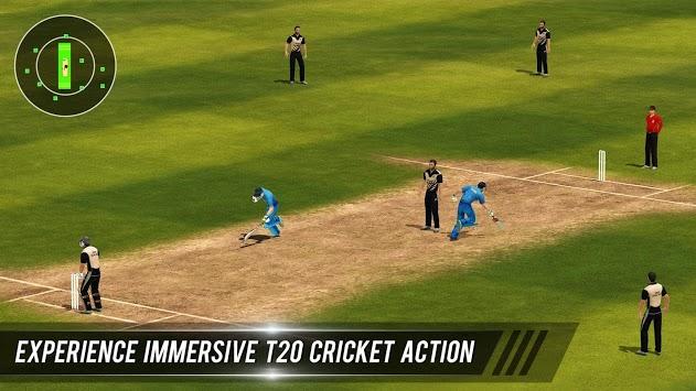 T20 Cricket Champions 3D APK screenshot 1