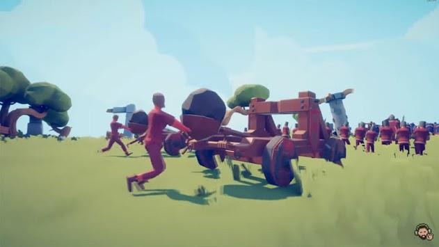 Totally Accurate Clash Battle Simulator #2 APK screenshot 1