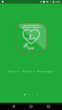 iTek Health Scale APK screenshot 1