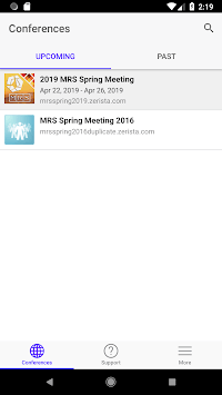 MRS Spring & Fall Meetings APK screenshot 1