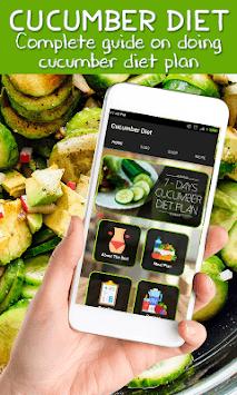 Best Cucumber Diet Weightloss Plan APK screenshot 1