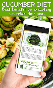 Best Cucumber Diet Weightloss Plan APK screenshot 1