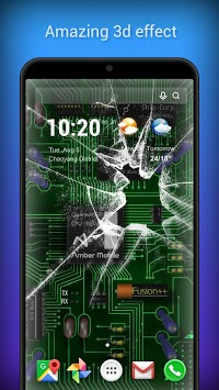3D Parallax Live Wallpaper -HD Animated Background APK screenshot 1
