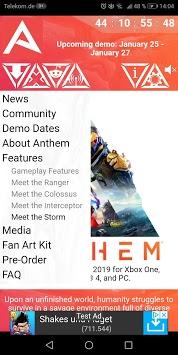 Companion for Anthem APK screenshot 1