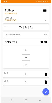 Progressive Workouts APK screenshot 1