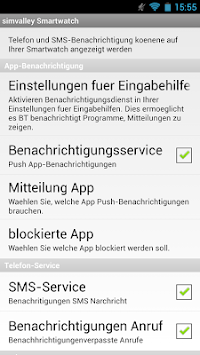 simvalley Smartwatch APK screenshot 1