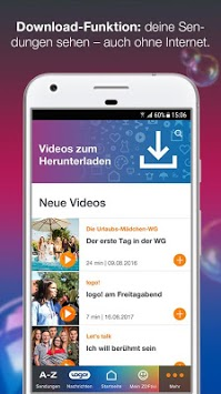 ZDFtivi für Kinder APK screenshot 1