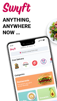 Swyft Delivery APK screenshot 1