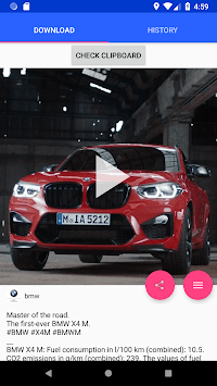 Video Downloader For Instagram, IGTV & Repost APK screenshot 1
